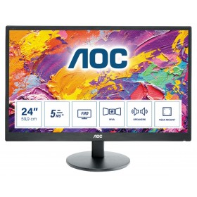 "AOC M2470SWH LED display 61 cm (24"") 1920 x 1080 Pixel Full HD Nero"