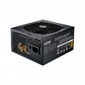 Cooler Master MWE Gold 650 - V2 Full Modular power supply unit 650 W 24-pin ATX ATX Black