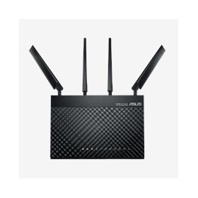 ASUS 4G-AC68U wireless router Gigabit Ethernet Dual-band (2.4 GHz   5 GHz) 3G Black