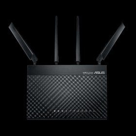 ASUS 4G-AC68U wireless router Gigabit Ethernet Dual-band (2.4 GHz / 5 GHz) 3G Black