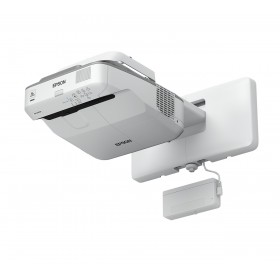 Epson EB-695Wi data projector Wall-mounted projector 3500 ANSI lumens 3LCD WXGA (1280x800) Grey, White