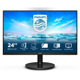 "Philips V Line 241V8L 00 LED display 60,5 cm (23.8"") 1920 x 1080 pixels Full HD Noir"