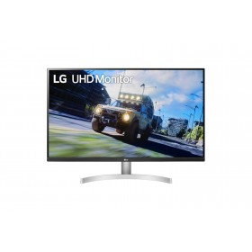 "LG 32UN500-W monitor piatto per PC 80 cm (31.5"") 3840 x 2160 Pixel 4K Ultra HD Nero, Bianco"