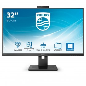 "Philips P Line 326P1H 00 LED display 80 cm (31.5"") 2560 x 1440 pixels Quad HD Black"