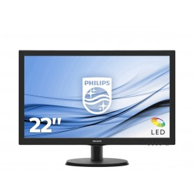 "Philips V Line 243V5QHABA 00 LED display 59.9 cm (23.6"") 1920 x 1080 pixels Full HD Black"