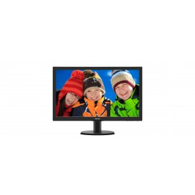 "Philips V Line 243V5QHABA/00 LED display 59.9 cm (23.6"") 1920 x 1080 pixels Full HD Black"