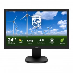 Philips S Line Monitor LCD 243S5LHMB 00