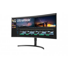 "LG 38WN75C-B LED display 96,5 cm (38"") 3840 x 1600 Pixeles UltraWide Quad HD+ Negro"