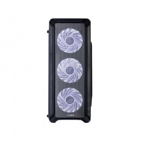 Zalman i3 Midi-Tower Case - Black Window Midi Tower Nero