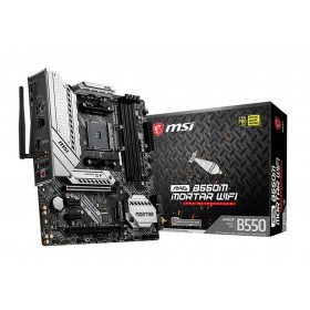 MSI MAG B550M Mortar Wifi AMD B550 Socket AM4 micro ATX