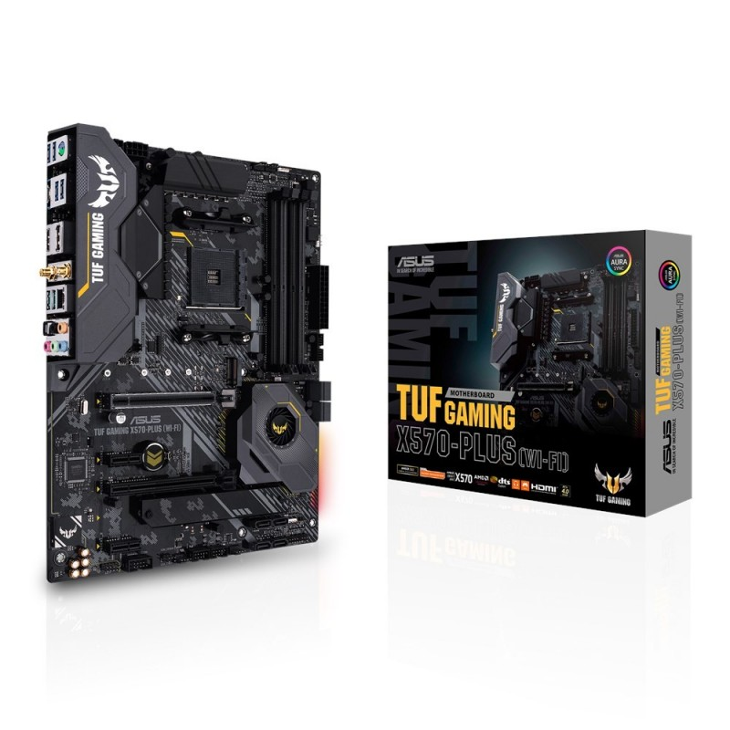 ASUS TUF Gaming X570-Plus (WI-FI) AMD X570 Emplacement AM4 ATX