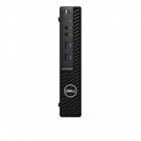 DELL OptiPlex 3080 DDR4-SDRAM i3-10100T MFF Intel® Core™ i3 di decima generazione 4 GB 128 GB SSD Windows 10 Pro Mini PC Nero