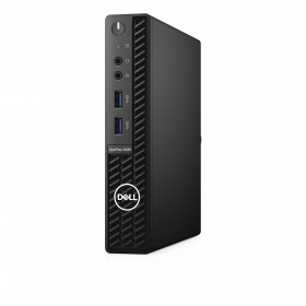 DELL OptiPlex 3080 DDR4-SDRAM i3-10100T MFF 10th gen Intel® Core™ i3 4 GB 128 GB SSD Windows 10 Pro Mini PC Black