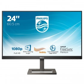 "Philips E Line 242E1GAEZ 00 LED display 60,5 cm (23.8"") 1920 x 1080 pixels Full HD Noir"