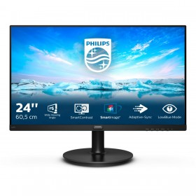 "Philips V Line 242V8A 00 computer monitor 60.5 cm (23.8"") 1920 x 1080 pixels Full HD LCD Black"