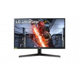 "LG 27GN800-B LED display 68.6 cm (27"") 2560 x 1440 pixels Quad HD Black, Red"