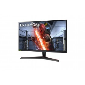 "LG 27GN800-B LED display 68,6 cm (27"") 2560 x 1440 Pixel Quad HD Nero, Rosso"