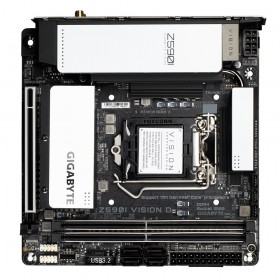Gigabyte Z590I VISION D placa base Intel Z590 Express LGA 1200 mini ITX