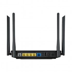 ASUS DSL-AC55U router wireless Gigabit Ethernet Dual-band (2.4 GHz/5 GHz) 3G 4G Nero