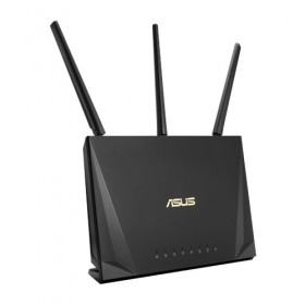ASUS RT-AC65P wireless router Gigabit Ethernet Dual-band (2.4 GHz / 5 GHz) Black