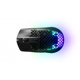 Steelseries Aerox 3 mouse Right-hand RF Wireless+Bluetooth Optical 18000 DPI