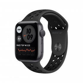 Apple Watch Series 6 Nike 44 mm OLED Grau GPS
