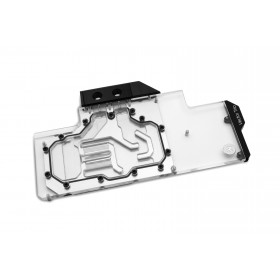 EK Water Blocks 3831109814239 computer cooling component Graphics card Water block Black, Metallic