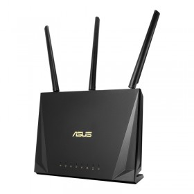 ASUS RT-AC85P router inalámbrico Gigabit Ethernet Doble banda (2,4 GHz / 5 GHz) Negro