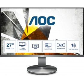 "AOC I2790VQ BT monitor piatto per PC 68,6 cm (27"") 1920 x 1080 Pixel Full HD LED Grigio"
