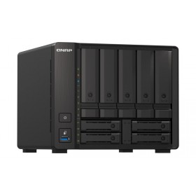QNAP TS-H973AX-8G NAS/storage server Tower Ethernet LAN Black V1500B