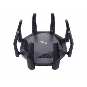 ASUS RT-AX89X AX6000 AiMesh router inalámbrico Ethernet Doble banda (2,4 GHz / 5 GHz) 3G 4G Negro