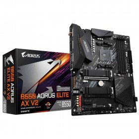 Gigabyte B550 AORUS ELITE AX V2 placa base AMD B550 Zócalo AM4 ATX