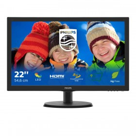 Philips V Line LCD monitor with SmartControl Lite 223V5LHSB2 00