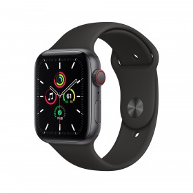 Apple Watch SE 44 mm OLED 4G Grau GPS