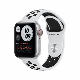 Apple Watch Series 6 Nike 40 mm OLED Plata GPS (satélite)