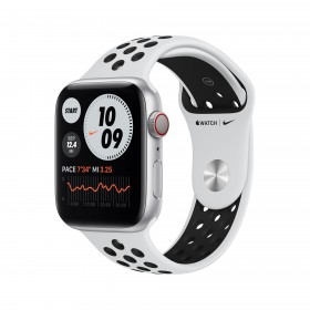Apple Watch Series 6 Nike 44 mm OLED Silber GPS
