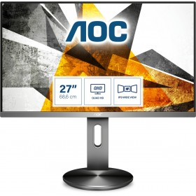 "AOC Q2790PQE monitor piatto per PC 68,6 cm (27"") 2560 x 1440 Pixel Quad HD LED Nero"