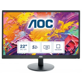 "AOC 70 Series E2270SWHN LED display 54,6 cm (21.5"") 1920 x 1080 Pixel Full HD Nero"