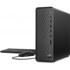 HP Slim Desktop S01-aF0018nl DDR4-SDRAM 3050U Mini Tower AMD Athlon Silver 8 GB 256 GB SSD Windows 10 Home PC Nero