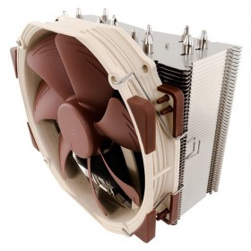 Noctua NH-U14S computer cooling component Processor Cooler 12 cm Brown, Stainless steel