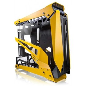 Raijintek NYX PRO Showcase Big-Tower, Tempered Glass - gelb