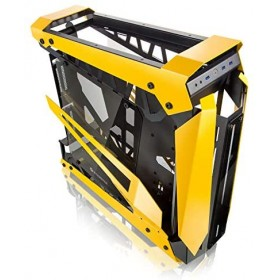 Raijintek NYX PRO Showcase Big-Tower, Tempered Glass - yellow