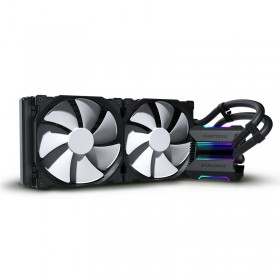 PHANTEKS Glacier One 280 MP, CPU Liquid Cooler, D-RGB - Black