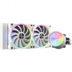 Alpenföhn Glacier Water 240 White RGB Water Cooling, White