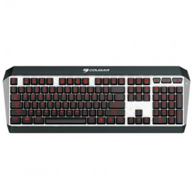 TASTIERA GAMING WIRED MECCANICA ATTACK X3 CHERRY-SWITCH ALLUMINUM USB US-LAYOUT - COUGAR