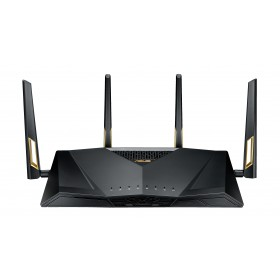 ASUS RT-AX88U wireless router Gigabit Ethernet Dual-band (2.4 GHz / 5 GHz) Black