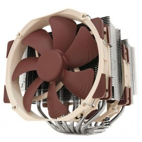 Noctua NH-D15 SE-AM4 computer cooling component Processor Cooler Beige, Brown, Stainless steel