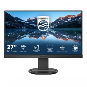 "Philips B Line 276B9 00 LED display 68.6 cm (27"") 2560 x 1440 pixels Quad HD Black"