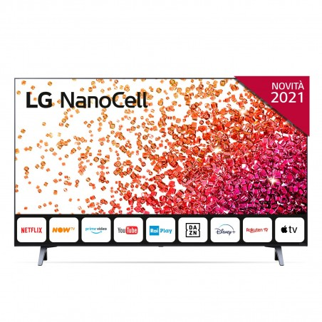 LG NanoCell 43NANO756PA 109,2 cm (43 Zoll) 4K Ultra HD Smart-TV WLAN Blau