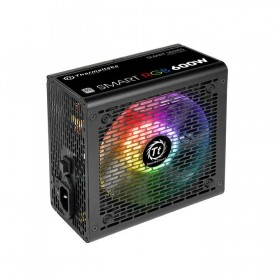 Thermaltake Smart RGB power supply unit 600 W 20+4 pin ATX ATX Black
